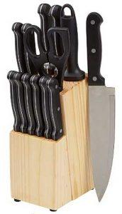 Amazon Basics Kitchen Knives Set