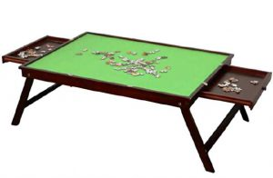 DAPU wooden jigsaw puzzle table
