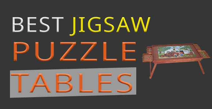 best jigsaw puzzle tables